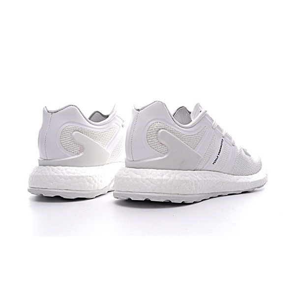 Adidas Y-3 Pure knit boost sneakers men's casual sports shoes triple white
