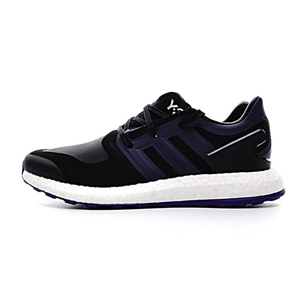 Adidas Y-3 Pure knit boost sneakers classic men's sports shoes black navy