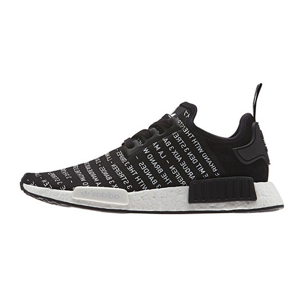 Adidas original NMD R1 blackout 3 stripes runner men's