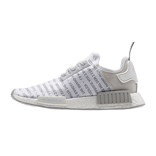 Adidas original NMD R1 whiteout 3 stripes runner men's sneakers white