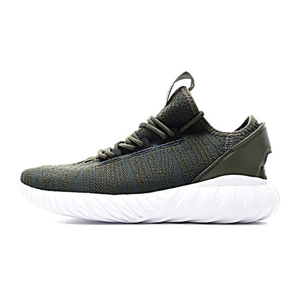 Adidas original tubular doom sock pk sneakers men's casual shoes green white