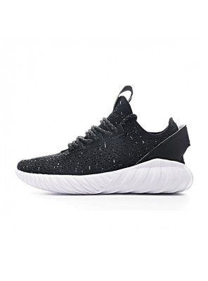 Adidas original tubular doom sock pk sneakers men's casual shoes black white