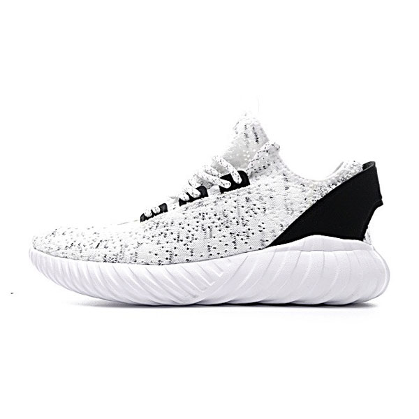 Adidas original tubular doom sock pk sneakers white black men's casual shoes