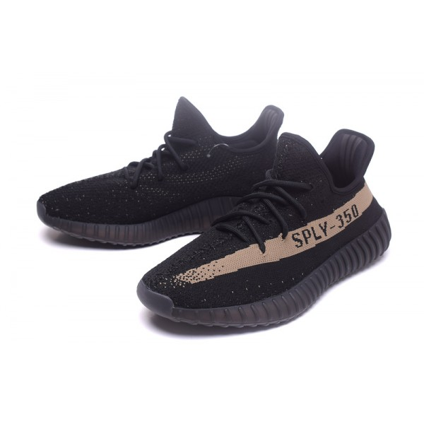 Global limited sale adidas yeezy boost 350 V2 core black copper casual shoes