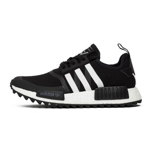 White mountaineering adidas nmd trail pk schwarz shoes men's sneakers black