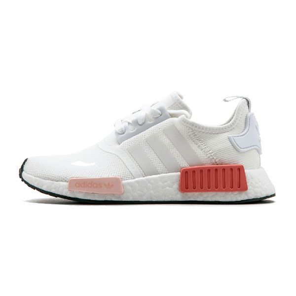 855116191 New adidas nmd r1 w pk runner ultra boost women s running shoes white pink