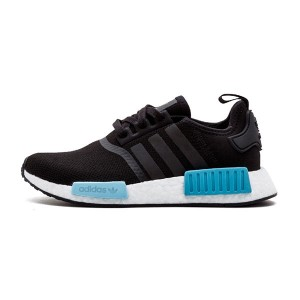 New adidas originals nmd r1 w pk ultra boost women's running shoes black blue