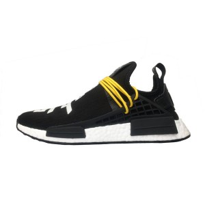 Fear of God x adidas nmd pharrell williams human race boost sneakers black