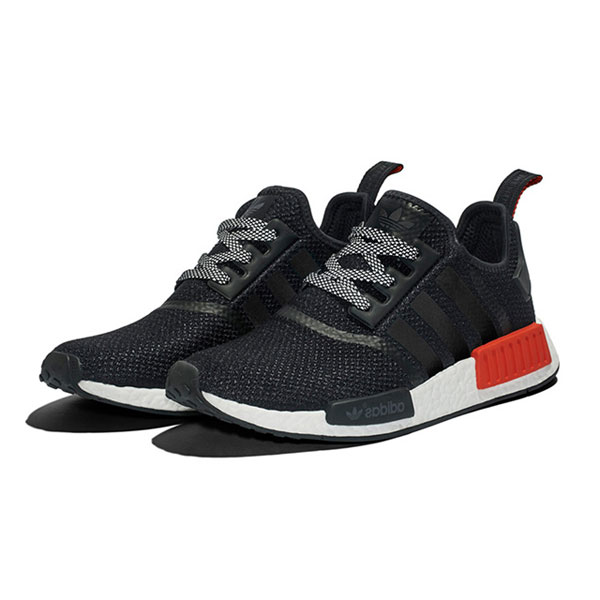 Hong Kong limited color adidas nmd r1 boost men's running shoes black xeno