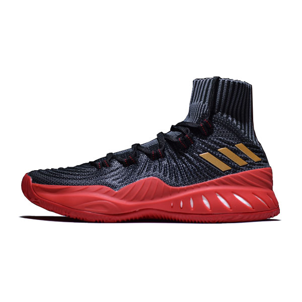 Adidas Crazy Explosive 2017 Primeknit high boost basketball shoes black red