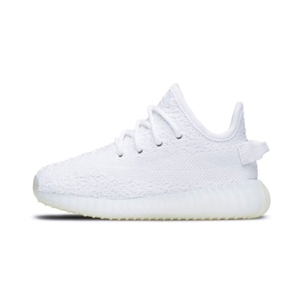 Kanye west adidas yeezy boost 350 v2 Infant kids casual shoes cream white