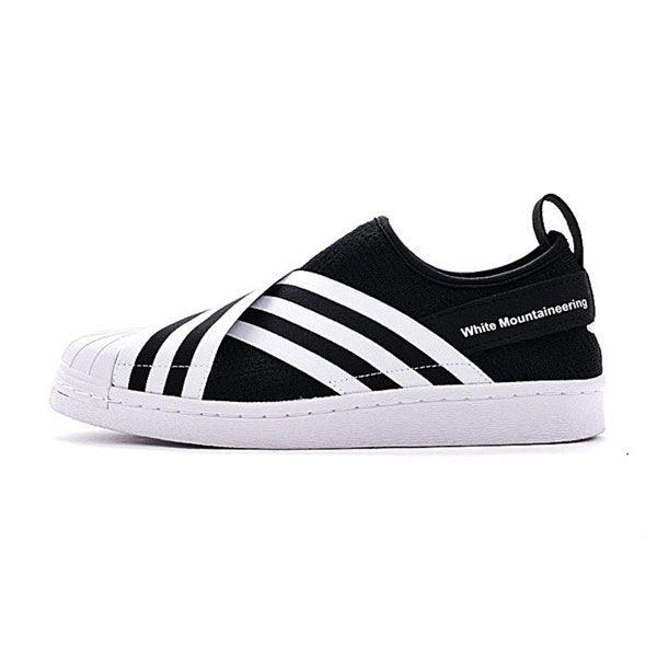 half off d2ba6 9d3b7 White Mountaineering x adidas originals superstar slip-on ...