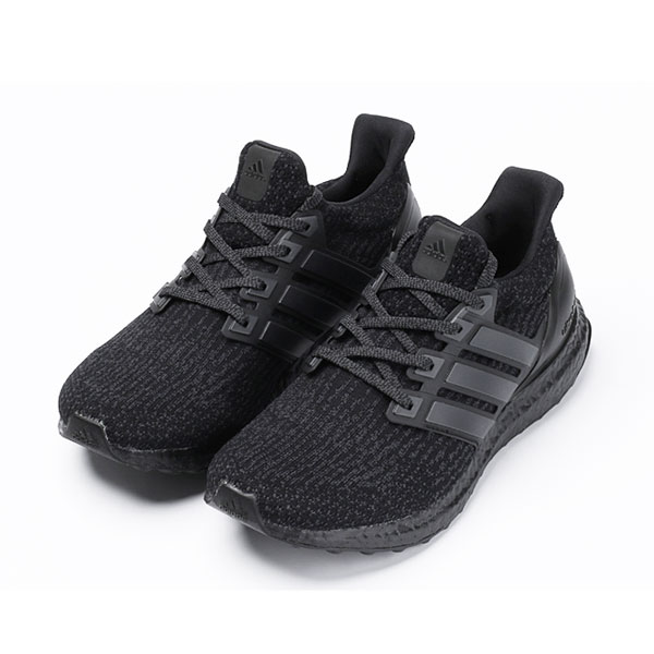 Adidas ultra boost 3.0 triple black sneakers womens and mens