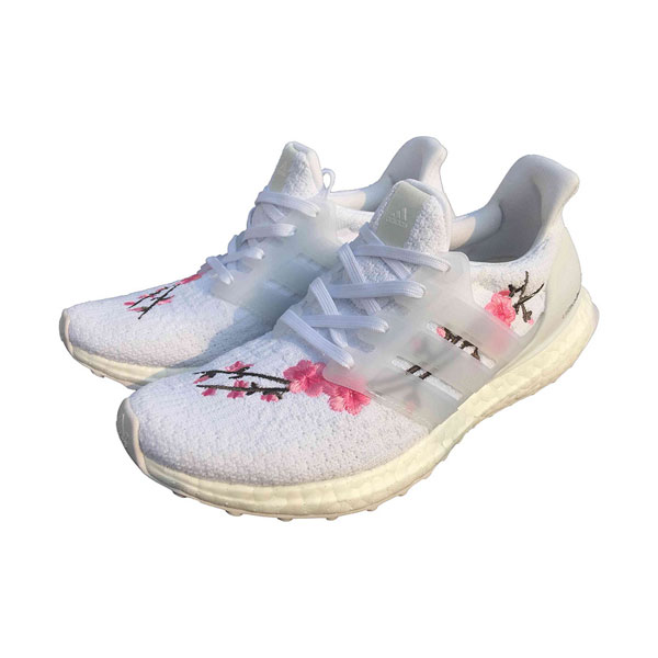 FreeCustomer adidas ultra boost 3.0 cherry pink sneakers women running shoes
