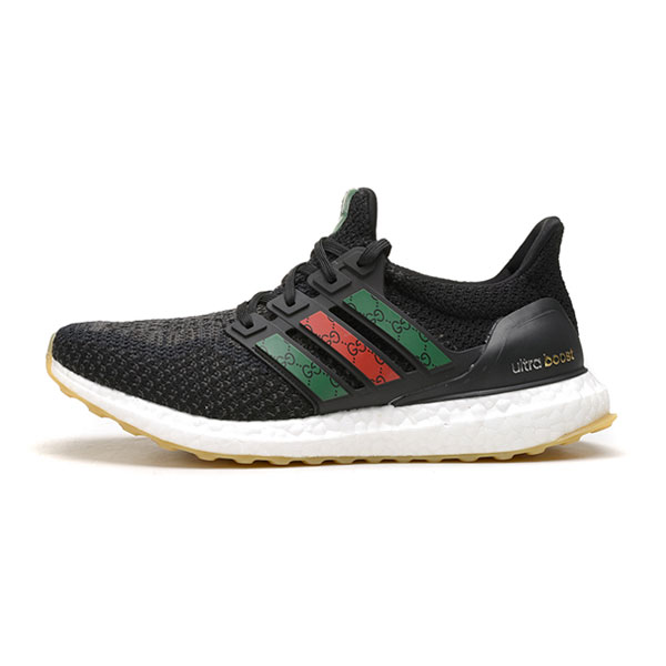 Adidas x Gucci ultra boost 3.0 primeknit sneakers men's running shoes black
