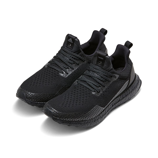 Adidas x Haven ultra boost uncaged sneakers men's running shoes triple black