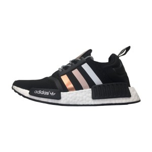 New adidas nmd r1 pk grandient rose gold boost sneakers men's running shoes