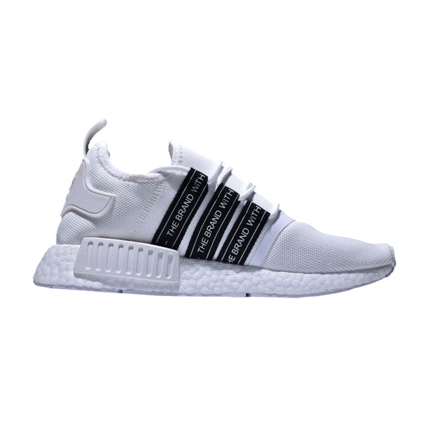 New adidas nmd r1 custom pk boost sneakers men's running shoes black white
