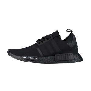Limited Adidas Originals NMD R1 Primeknit Japan Boost running shoes triple black