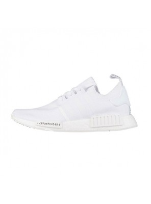 Limited Adidas Originals NMD R1 Primeknit Japan Boost running shoes triple white