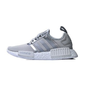 New Adidas Originals Nmd R1 Boost Runner Primeknit W Matte Silver running shoes