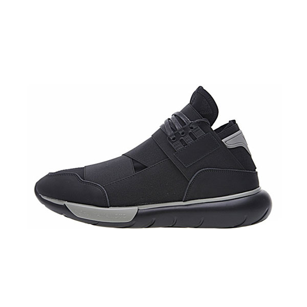 8f22033d9 New Adidas orignals Y-3 qasa high yohji yamamoto sneakers for men triple  black