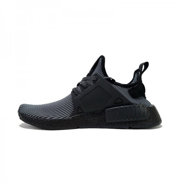 Adidas Originals NMD Primeknit XR1 running shoes triple black S32211