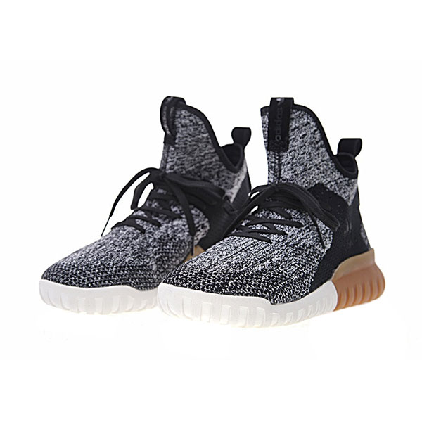 New adidas originals tubular x primeknit runner men's casual shoes black grey