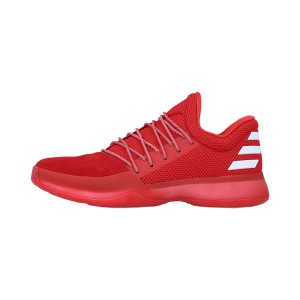 New Color Adidas Harden Vol.1 PK sneakers men's basketball shoes triple red