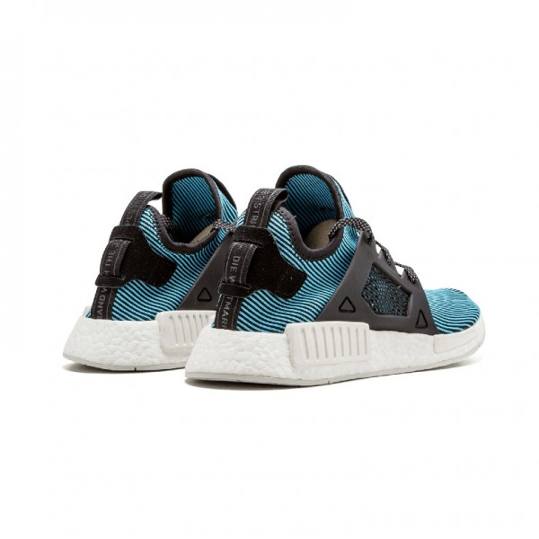 Adidas Originals NMD XR1 Primeknit running shoes triple blue S32212