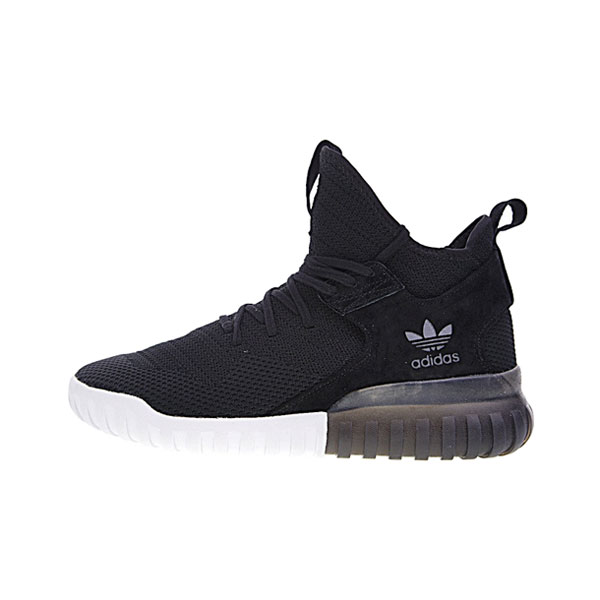 New adidas originals tubular x primeknit runner men's casual shoes black white
