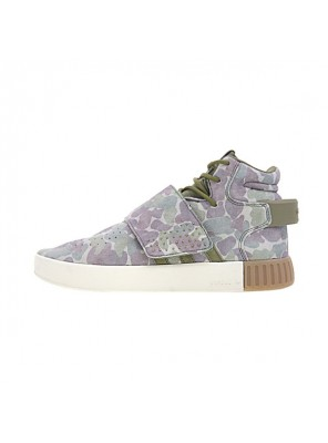 Adidas Tubular Invader Strap Duck Camo footware men and women casual shoes