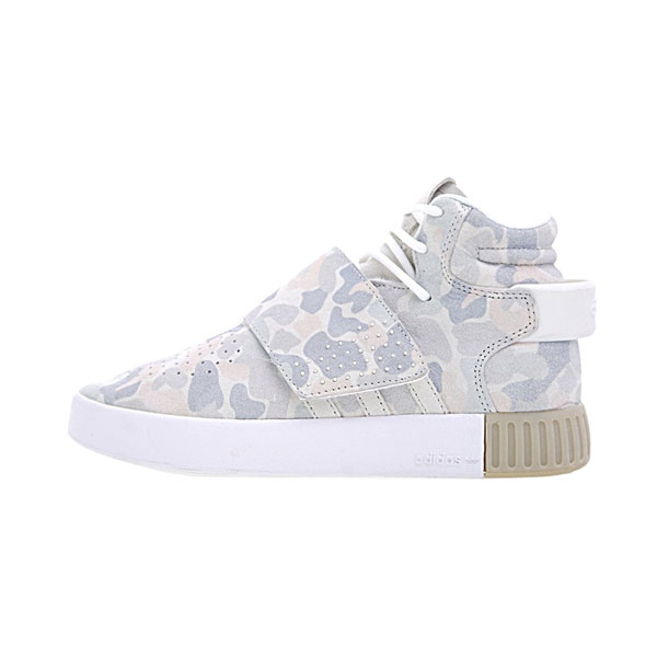 Adidas Tubular Invader Strap White Duck Camo men and women casual shoes