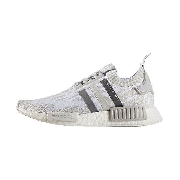 d2d90ddd34e66 Adidas NMD R1 PK Boost Grey Glitch Camo men and women running shoes white