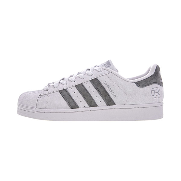 Reigning Champ x adidas Originals Superstar men and women casual shoes grey