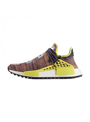 Pharrell Williams x Adidas Human Race NMD Trail Noble Ink running shoes multicolor