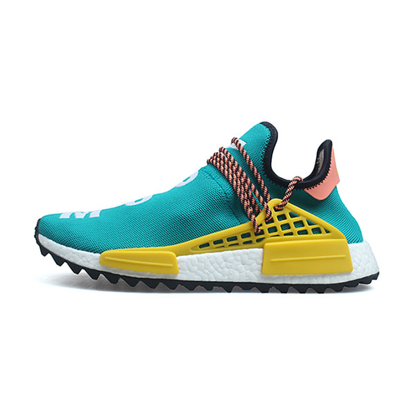 579b0b4076f66 Pharrell Williams x Adidas Human Race NMD Trail Sun Glow men s running shoes