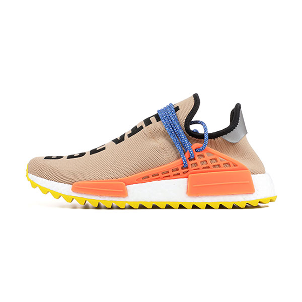 3d9c7f694e04 Pharrell Williams x Adidas Human Race NMD Trail Pale Nude men s running  shoes