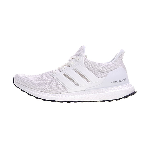 Adidas Ultra Boost 4.0 sneaker men and women running shoes triple white