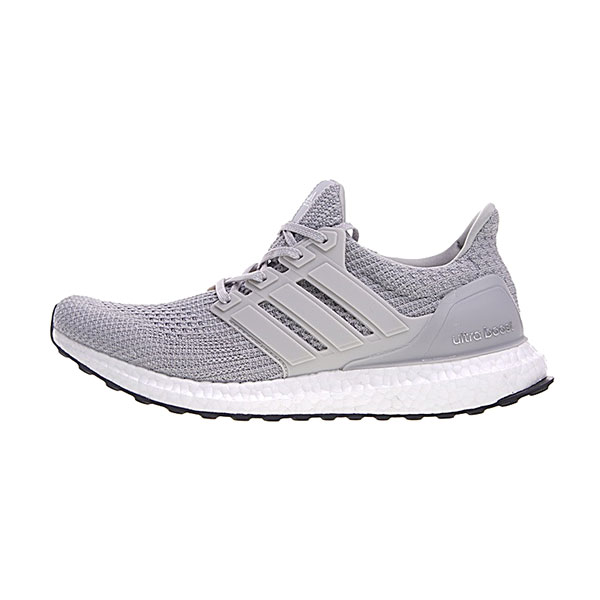 Adidas Ultra Boost 4.0 sneaker men and women running shoes grey sliver