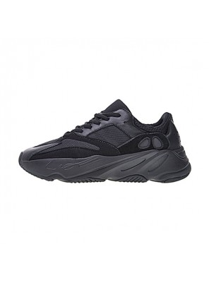 Kanye West x Adidas Yeezy Boost 700 wave runner triple black casual shoes