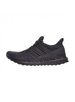 Adidas Ultra Boost 4.0 sneaker men and women running shoes triple black