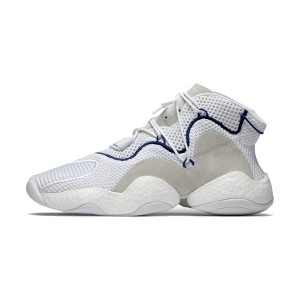 Adidas Originals Crazy BYW Boost LVL 1 sneaker men's basketball shoes white grey