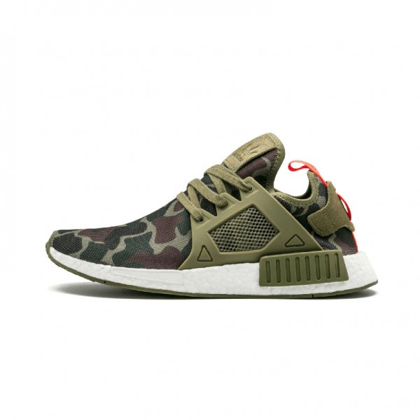 Adidas NMD XR1 Duck Camo women's and men's sneakers green BA7232