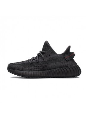 Kanye West x Adidas Yeezy Boost 350 V2 Black Reflective Running Shoes