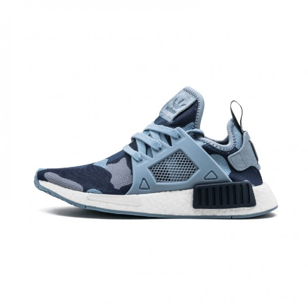 timeless design ff620 15434 Adidas NMD XR1 PK runner fashion jogging shoes blue camo BA7254
