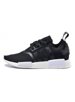 Cheap Adidas NMD R1 running shoes classic sneakers core black BA8629