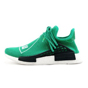 Pharrell Williams Adidas NMD human race couple shoes green BB0620
