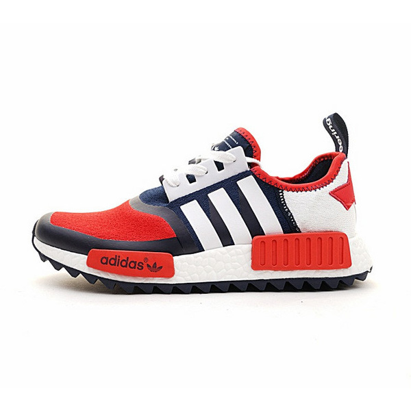 Adidas NMD Trail shoes white mountaineering sneakers rot/blau BA7519