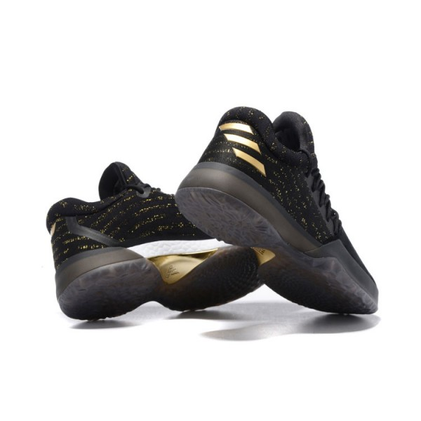Limited Edition Adidas James Harden Vol.1 shoes Imma Be a Star black gold